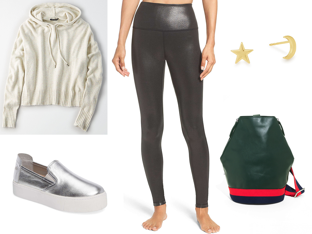 black-leggings-white-sweater-hoodie-studs-gray-shoe-sneakers-metallic-silver-football-fall-winter-thanksgiving-outfits-holidays-weekend.jpg