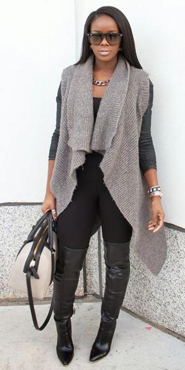 black-leggings-black-tee-layer-grayl-vest-knit-chain-necklace-brun-white-bag-black-shoe-boots-otk-fall-winter-lunch.jpg