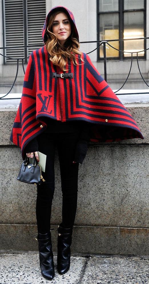 black-leggings-black-sweater-red-jacket-coat-cape-poncho-black-bag-wear-outfit-fashion-fall-winter-black-shoe-booties-hairr-lunch.jpg