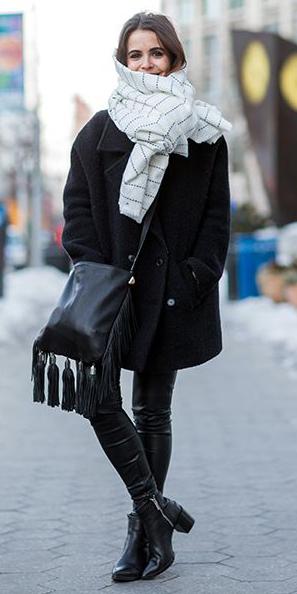 black-leggings-black-jacket-coat-white-scarf-black-bag-howtowear-fashion-style-outfit-fall-winter-black-shoe-booties-leather-squarescarfwith-loosesideknot-crossbody-brun-lunch.jpg