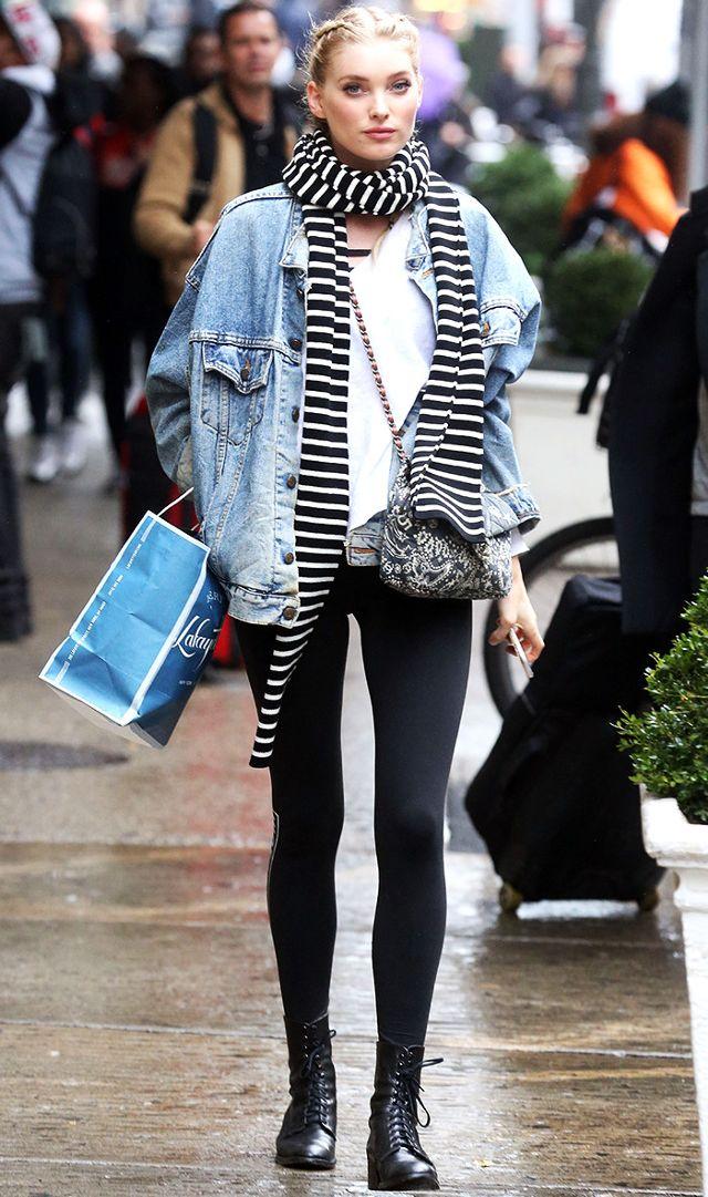 black-leggings-white-tee-elsahosk-black-scarf-stripe-blue-light-jacket-jean-blonde-oversized-fall-winter-weekend.jpg