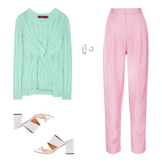pink-light-slim-pants-green-light-sweater-earrings-white-shoe-sandalh-spring-summer-lunch.jpg