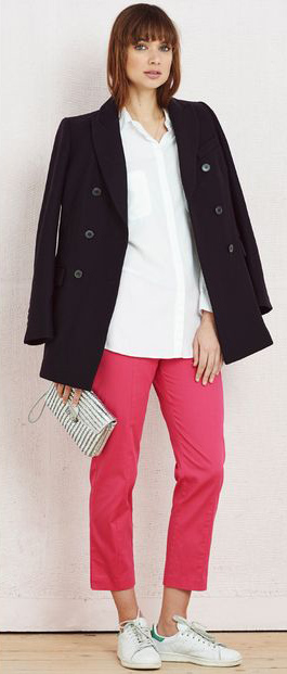 r-pink-magenta-slim-pants-white-collared-shirt-black-jacket-coat-white-bag-clutch-white-shoe-sneakers-howtowear-fashion-style-outfit-spring-summer-hairr-lunch.jpg