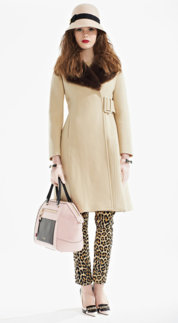 o-tan-slim-pants-o-tan-jacket-coat-pink-bag-hand-hat-gloves-white-shoe-pumps-howtowear-leopard-katespade-fall-winter-hairr-lunch.jpg