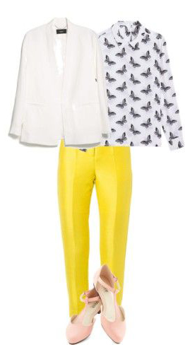 yellow-slim-pants-white-top-blouse-print-white-jacket-blazer-tan-shoe-pumps-howtowear-fashion-style-outfit-spring-summer-lunch.jpg
