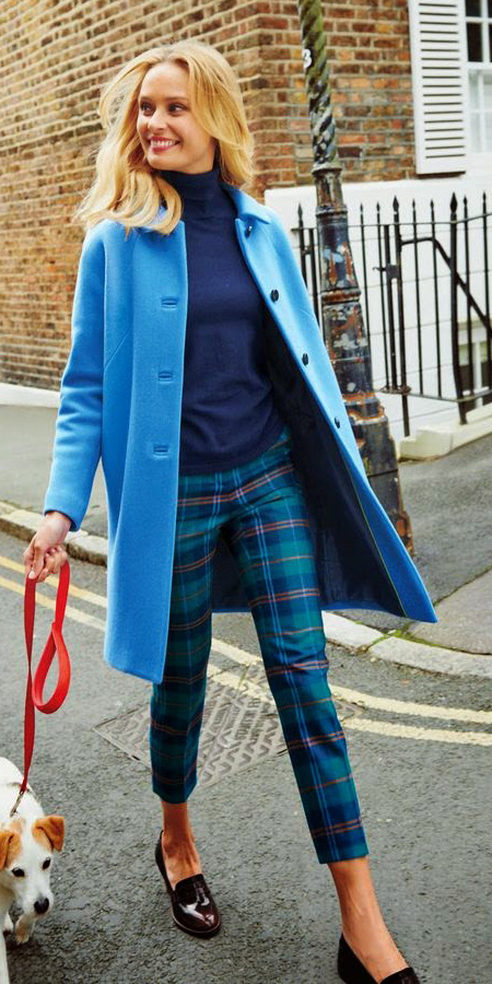 blue-med-slim-pants-plaid-print-blue-navy-sweater-turtleneck-cobalt-tonal-blue-med-jacket-coat-fall-winter-blonde-lunch.jpg