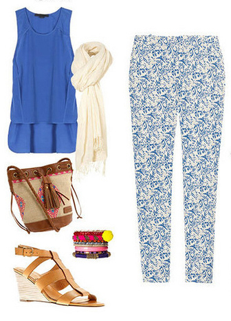 blue-med-slim-pants-print-blue-med-top-white-scarf-tan-bag-cognac-shoe-sandalw-howtowear-fashion-style-outfit-spring-summer-lunch.jpg