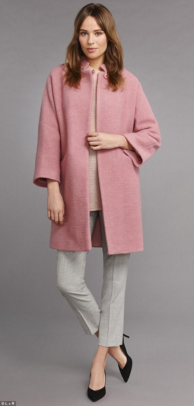 grayl-slim-pants-o-peach-sweater-pink-llight-jacket-coat-black-shoe-pumps-howtowear-fashion-style-outfit-spring-summer-hairr-work.jpg
