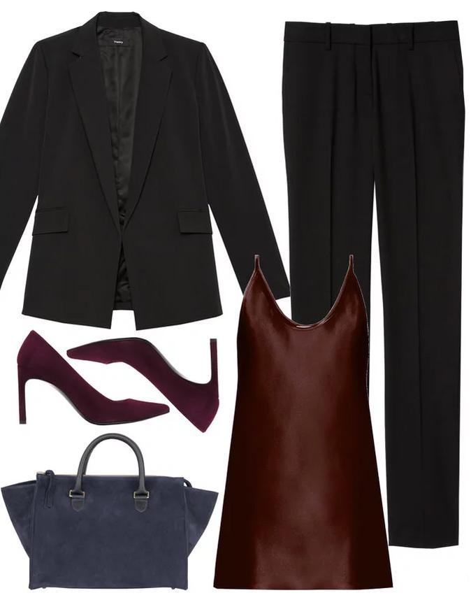 black-slim-pants-burgundy-cami-burgundy-shoe-pumps-black-jacket-blazer-suit-blue-bag-fall-winter-work.jpg