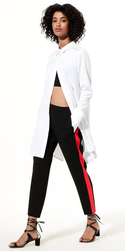 black-slim-pants-trackpants-black-bralette-black-shoe-sandals-white-collared-shirt-fall-winter-brun-lunch.jpg