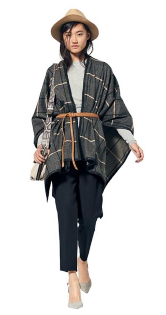 black-slim-pants-grayl-tee-hat-white-bag-gray-shoe-pumps-grayd-cardiganl-cape-sweater-belt-fall-winter-brun-lunch.jpg