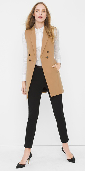 black-slim-pants-white-collared-shirt-camel-vest-tailor-howtowear-black-shoe-pumps-office-fall-winter-hairr-work.jpg