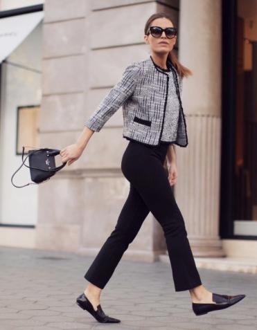 black-slim-pants-hairr-sun-pony-black-shoe-loafers-black-bag-grayl-jacket-lady-fall-winter-lunch.jpg