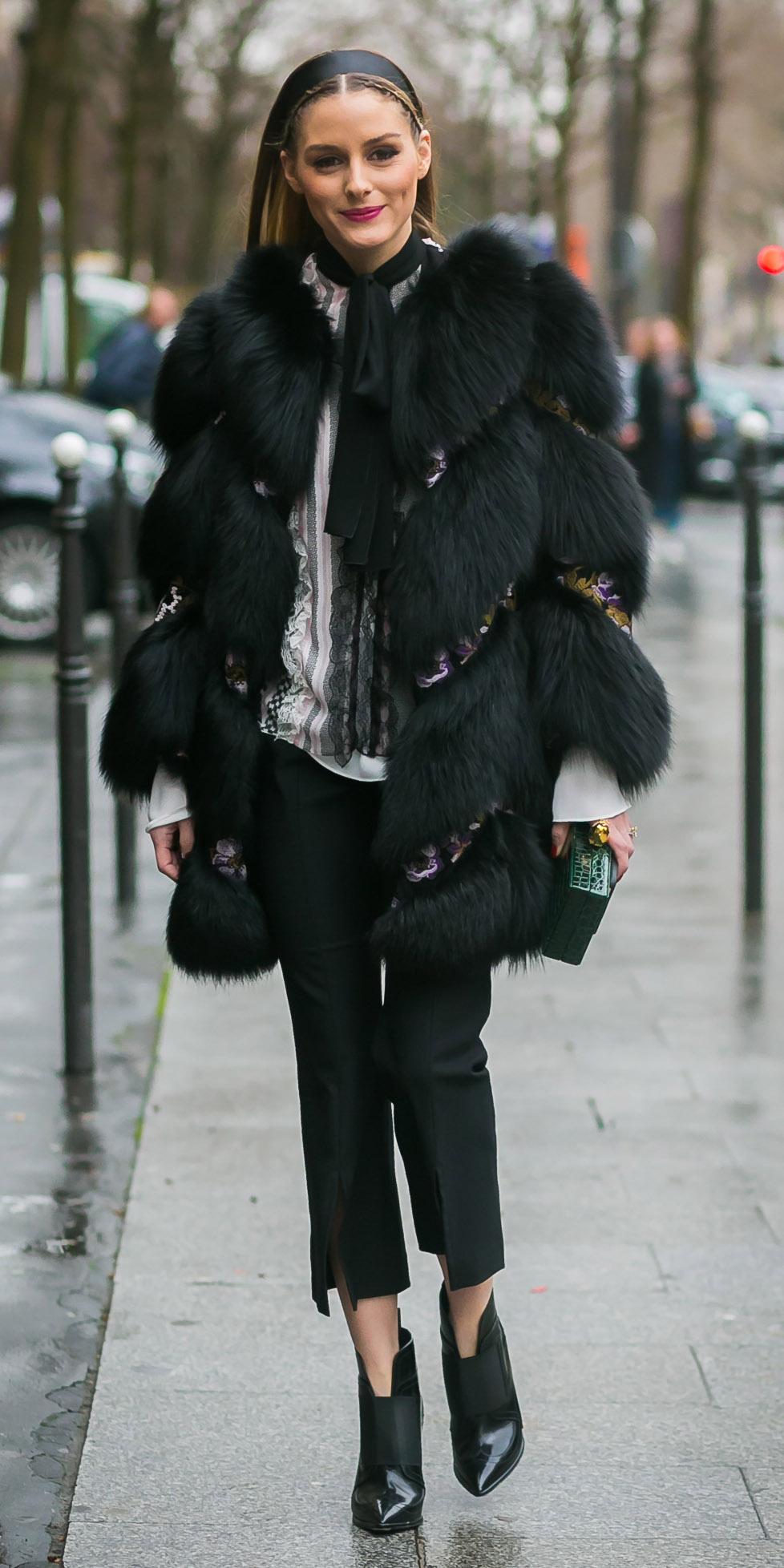 black-slim-pants-white-top-blouse-head-black-shoe-booties-oliviapalermo-black-jacket-coat-fur-fuzz-fall-winter-hairr-lunch.jpg