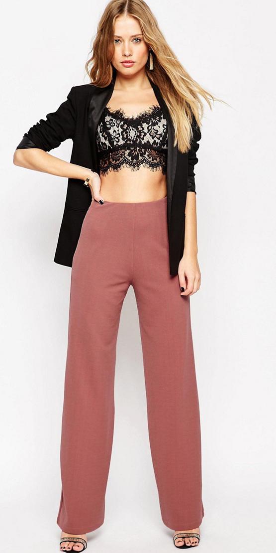 pink-light-wideleg-pants-fall-winter-black-crop-top-black-jacket-blazer-earrings-blonde-dinner.jpg