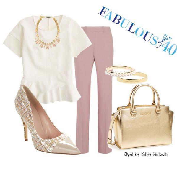 pink-light-wideleg-pants-white-top-blouse-tan-shoe-pumps-bib-necklace-tan-bag-bracelet-howtowear-fashion-style-outfit-spring-summer-work.jpg