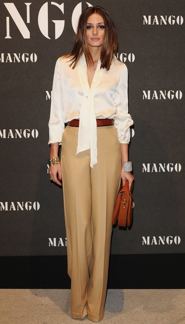 what-to-wear-for-a-winter-wedding-guest-outfit-tan-wideleg-pants-white-top-blouse-cognac-bag-hairr-tonal-oliviapalermo-dinner.jpg