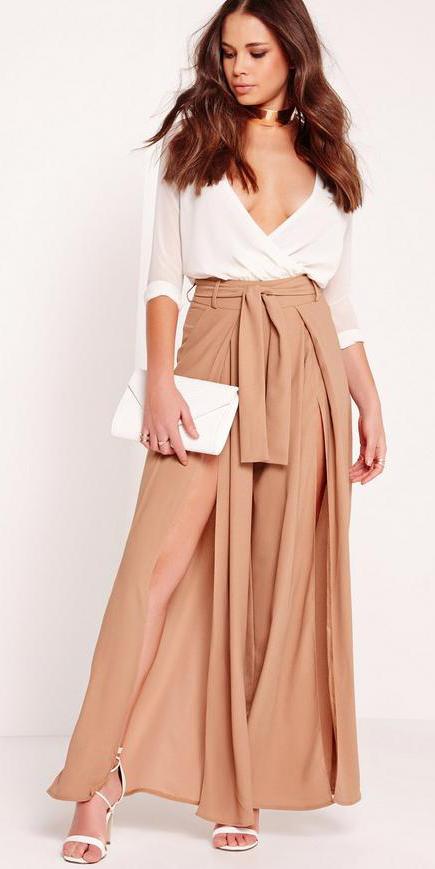 camel-wideleg-pants-full-slit-white-top-blouse-choker-white-bag-clutch-spring-summer-brun-dinner.jpg