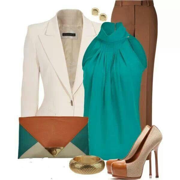 camel-wideleg-pants-green-emerald-top-blouse-white-jacket-blazer-studs-bracelet-tan-shoe-pumps-spring-summer-work.jpg