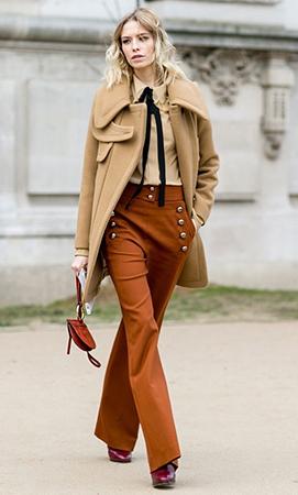o-camel-wideleg-pants-tan-top-blouse-tan-jacket-coat-burgundy-shoe-booties-howtowear-style-fashion-fall-winter-tie-sailor-street-blonde-lunch.jpg
