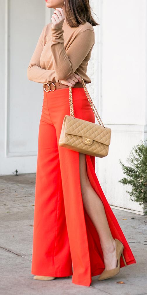 orange-wideleg-pants-tan-sweater-belt-hairr-tan-bag-tan-shoe-pumps-slit-fall-winter-lunch.jpg