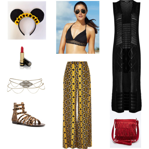 yellow-wideleg-pants-black-bralette-black-vest-tan-shoe-sandals-red-bag-sun-howtowear-fashion-style-outfit-spring-summer-brun-weekend.jpg