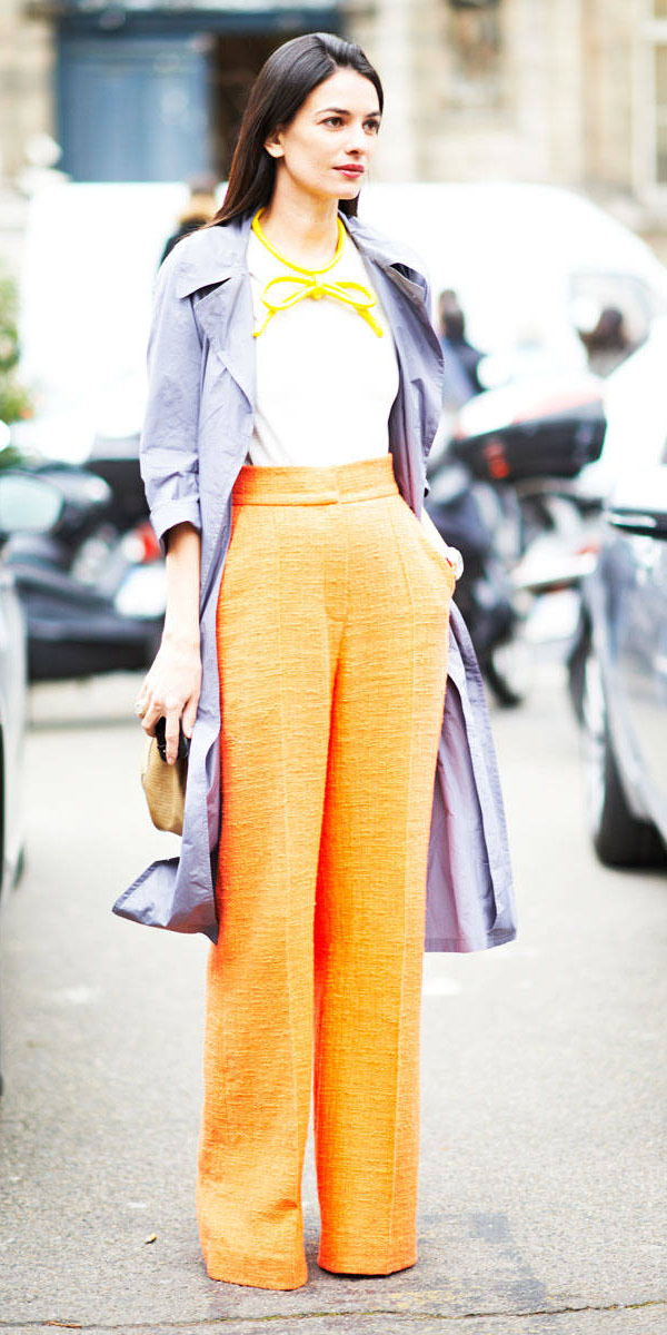 yellow-wideleg-pants-grayl-jacket-coat-trench-fall-winter-brun-lunch.jpg