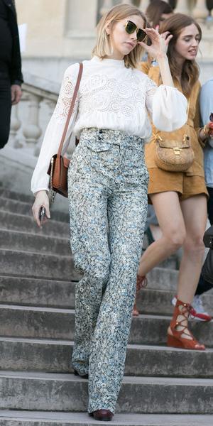 blue-light-wideleg-pants-floral-print-white-top-blouse-peasant-cognac-bag-blonde-sun-bob-spring-summer-lunch.jpg