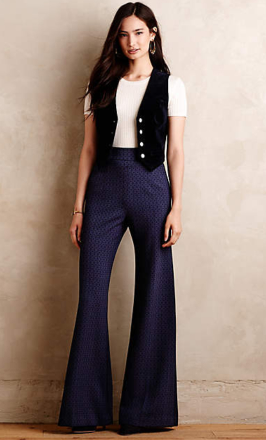blue-navy-wideleg-pants-white-tee-hoops-howtowear-style-fashion-spring-summer-blue-navy-vest-anthropologie-brun-lunch.jpg