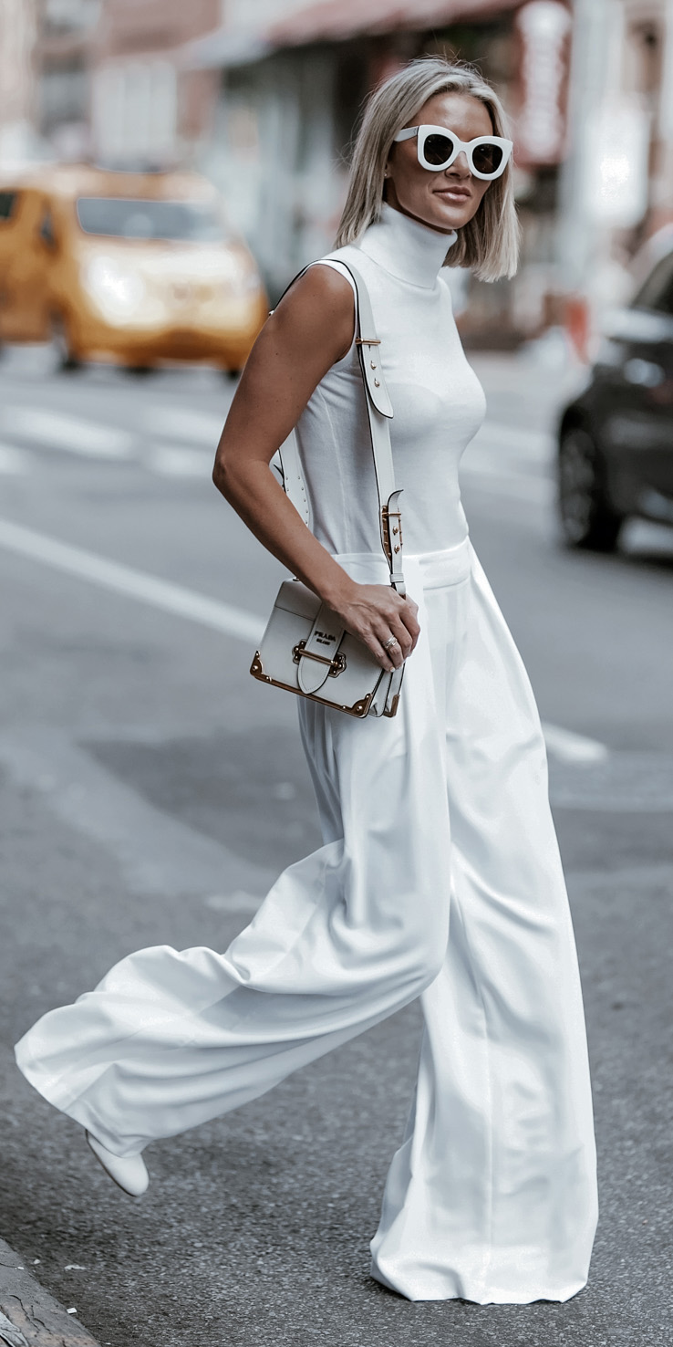 white-wideleg-pants-white-sweater-sleeveless-white-bag-sun-blonde-lob-mono-spring-summer-lunch.jpg