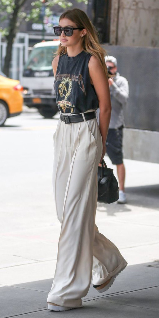 white-wideleg-pants-gigihadid-sun-belt-black-graphic-tee-platforms-spring-summer-blonde-lunch.jpg