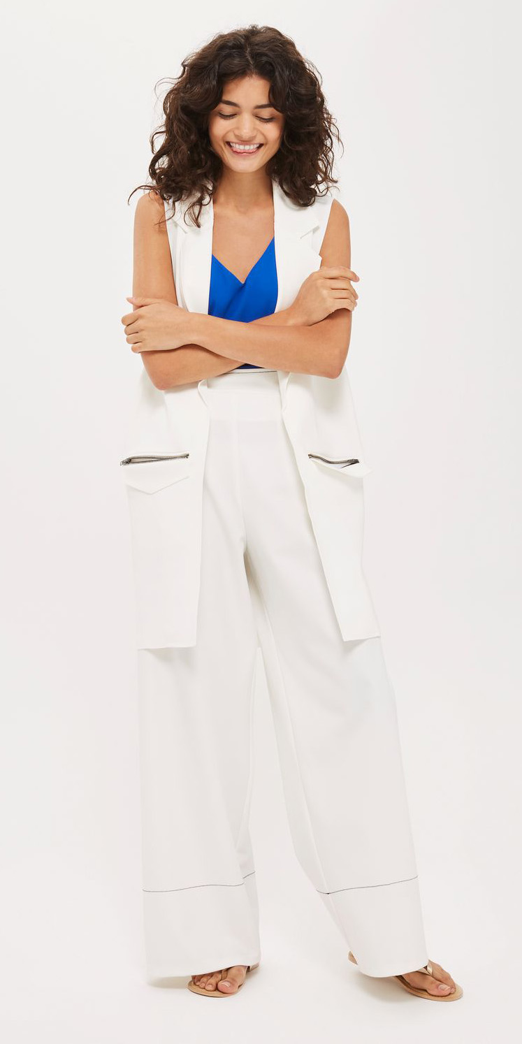 white-wideleg-pants-blue-med-cami-cobalt-white-vest-tailor-tan-shoe-sandals-spring-summer-weekend.jpg