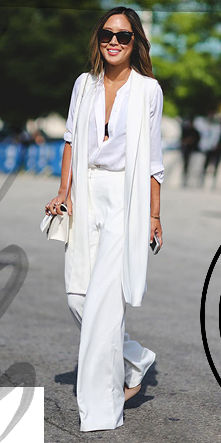 white-wideleg-pants-white-collared-shirt-white-bag-tan-shoe-pumps-sun-howtowear-fashion-style-outfit-spring-summer-mono-white-vest-knit-brun-lunch.jpg
