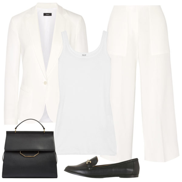 white-wideleg-pants-white-top-tank-white-jacket-blazer-suit-mono-black-shoe-loafers-black-bag-howtowear-fashion-style-outfit-spring-summer-work.jpg
