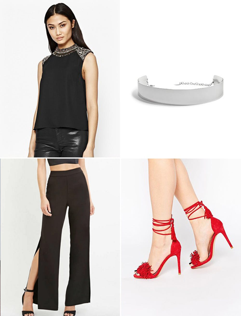 what-to-wear-for-a-spring-wedding-guest-outfit-black-wideleg-pants-red-shoe-sandalh-black-top-dinner.jpg