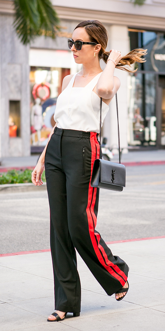 black-wideleg-pants-trackpants-white-cami-hairr-pony-sun-black-bag-black-shoe-sandalh-spring-summer-lunch.jpg