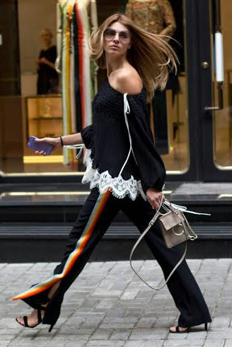 black-wideleg-pants-trackpants-tan-bag-black-sweater-black-shoe-sandalh-hairr-sun-fall-winter-lunch.jpg