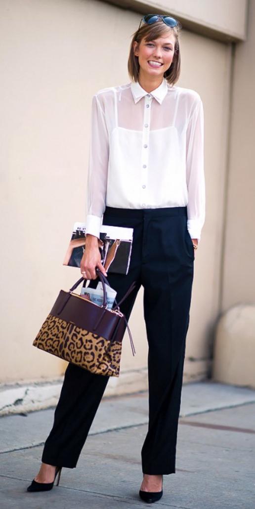 black-wideleg-pants-white-top-blouse-tan-bag-leopard-howtowear-style-fashion-fall-winter-black-shoe-pumps-karliekloss-model-street-hairr-work.jpg