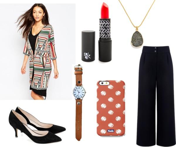 black-wideleg-pants-black-tee-white-cardiganl-green-emerald-cardigan-fall-print-black-shoe-pumps-watch-pend-necklace-brun-work.jpg