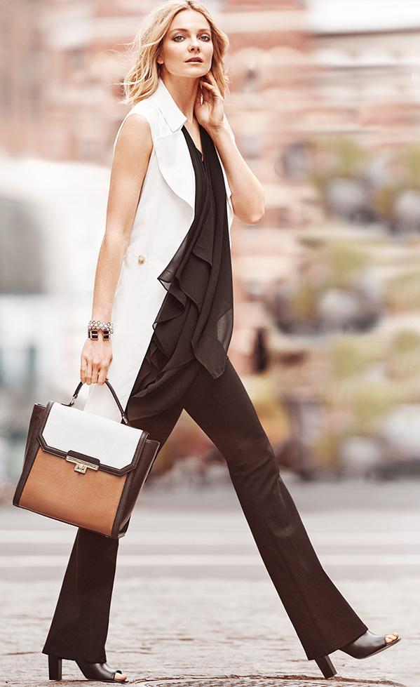 black-wideleg-pants-black-top-tunic-white-vest-tailor-tan-bag-hand-black-shoe-sandalh-blonde-whitehouseblackmarket-howtowear-fashion-style-outfit-fall-winter-work.jpg