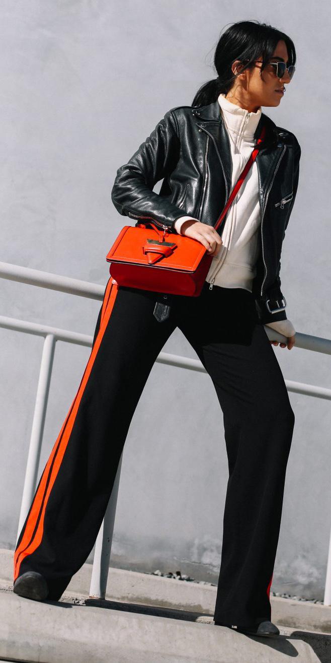 black-wideleg-pants-trackpants-red-bag-white-cardigan-hoodie-brun-pony-black-jacket-moto-fall-winter-weekend.jpg
