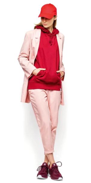 pink-light-joggers-pants-red-sweater-sweatshirt-hoodie-hat-cap-burgundy-shoe-sneakers-pink-light-jacket-blazer-boyfriend-spring-summer-blonde-weekend.jpg