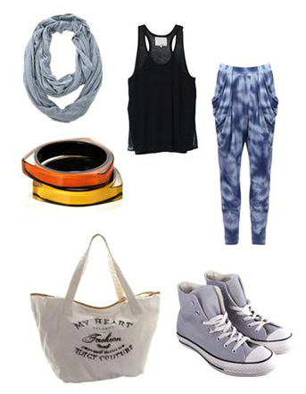 blue-med-joggers-pants-black-top-tank-grayl-scarf-gray-shoe-sneakers-bracelet-tiedye-white-bag-tote-howtowear-fashion-style-outfit-spring-summer-weekend.jpg