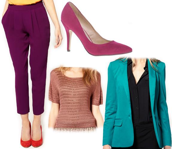 purple-royal-joggers-pants-tan-top-blue-med-jacket-blazer-magenta-shoe-pumps-howtowear-fashion-style-outfit-fall-winter-work.jpg