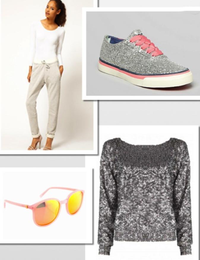 grayl-joggers-pants-grayl-sweater-sequin-gray-shoe-sneakers-sun-wear-style-fashion-spring-summer-weekend.jpg