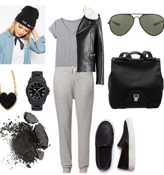 grayl-joggers-pants-grayl-tee-black-jacket-moto-sweats-howtowear-fashion-style-outfit-fall-winter-basic-beanie-black-bag-pack-watch-casual-sun-fall-winter-necklace-weekend.jpg