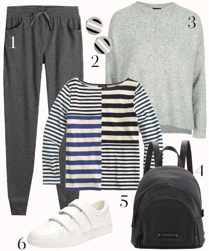 grayd-joggers-pants-black-tee-stripe-grayl-sweater-white-shoe-sneakers-howtowear-style-fashion-outfit-pj-fall-winter-sweats-black-bag-pack-studs-weekend.jpg