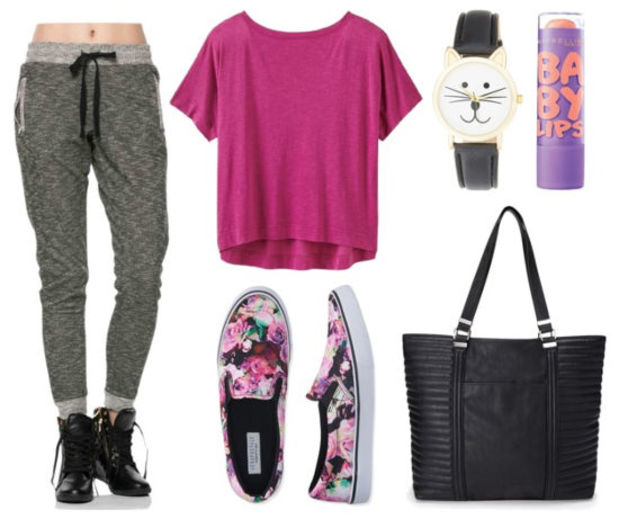 grayd-joggers-pants-pink-magenta-tee-crop-howtowear-fashion-style-outfit-spring-summer-sweats-pink-shoe-sneakers-watch-black-bag-tote-weekend.jpg