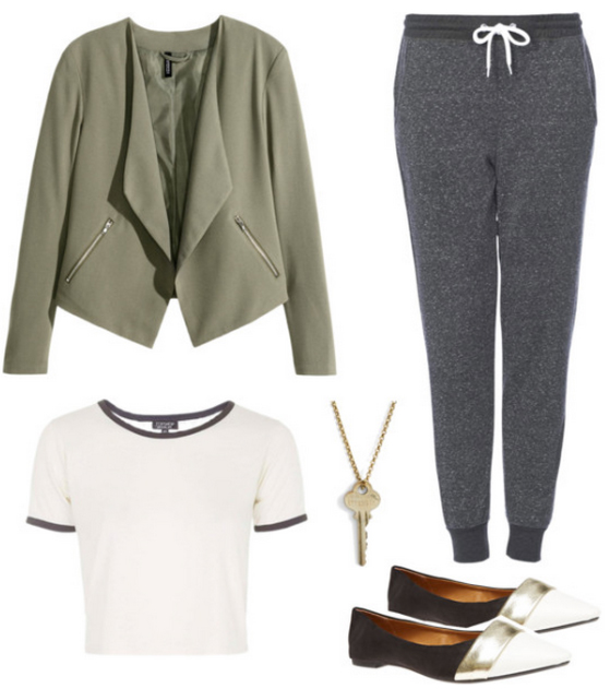 grayd-joggers-pants-white-tee-green-olive-jacket-crop-howtowear-fashion-style-outfit-spring-summer-sweats-white-shoe-flats-necklace-weekend.jpg