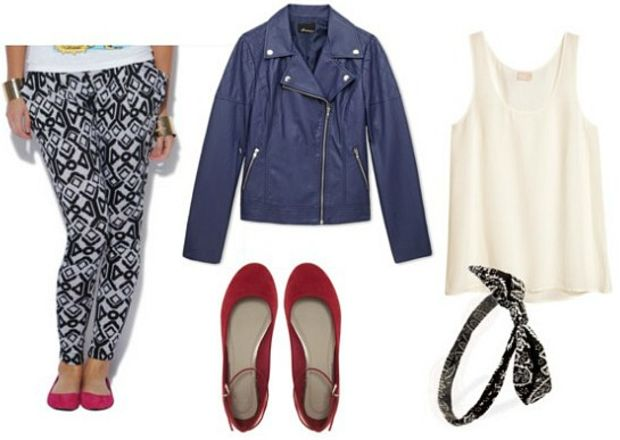 black-joggers-pants-zprint-white-cami-blue-navy-jacket-moto-red-shoe-pumps-howtowear-fashion-style-outfit-fall-winter-pumps-head-lunch.jpg